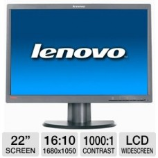 "Монитор Lenovo L2251p/22 ""  Response time-5ms /1680x1050 / 60hz /1000: 1"